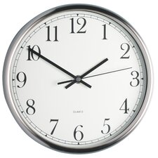 25cm Stainless Steel Wall Clock