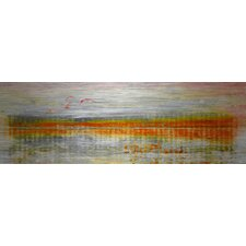 Linear Birds by Parvez Taj Art Print Wrapped on Canvas