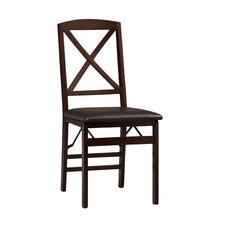 Clarke X Back Side Chair (Set of 2) by Andover Mills