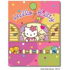 Motivteppich Hello Kitty in Bunt