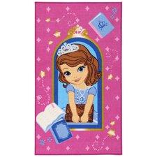 Motivteppich Fairytale in Pink/Blau