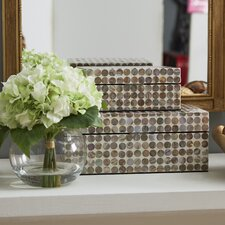 Decorative boxes you 39 ll love wayfair for Decor containers coles