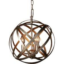 Dorota 3 Light Globe Pendant