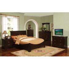 panel customizable bedroom set bedroom set light wood vera
