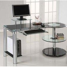 lionel computer desk black computer desks