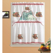 kitchen curtains fruit design. Kitchen red valances tiers you 39 ll love wayfair curtains fruit  design Curtains Fruit Design Home Architecture Cilif com