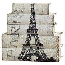 Image Result For Aspire Piece Paris Faux Book Box Set Reviews Wayfair