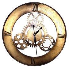 Geko Oversized 76cm Metal Wall Clock