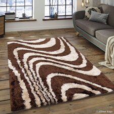 AllStar Rugs Hand Tufted Brown/Beige Area Rug