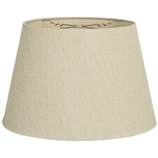 16 timeless linen tapered shallow drum lamp shade. Black Bedroom Furniture Sets. Home Design Ideas