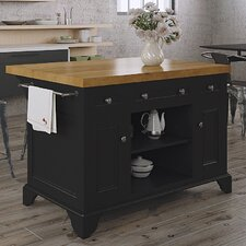 Fifth Furniture Greenwich Kitchen Island With Butcher Block Top : Butcher Block Kitchen Islands & Carts You'll Love Wayfair