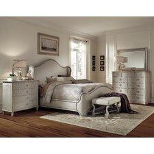 chateaux panel customizable bedroom set bedroom set light wood vera