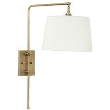 bridge wall lamp brass swing arm wall lamp