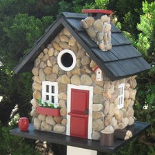 Free standing bird houses you 39 ll love wayfair for Types of birdhouses for birds