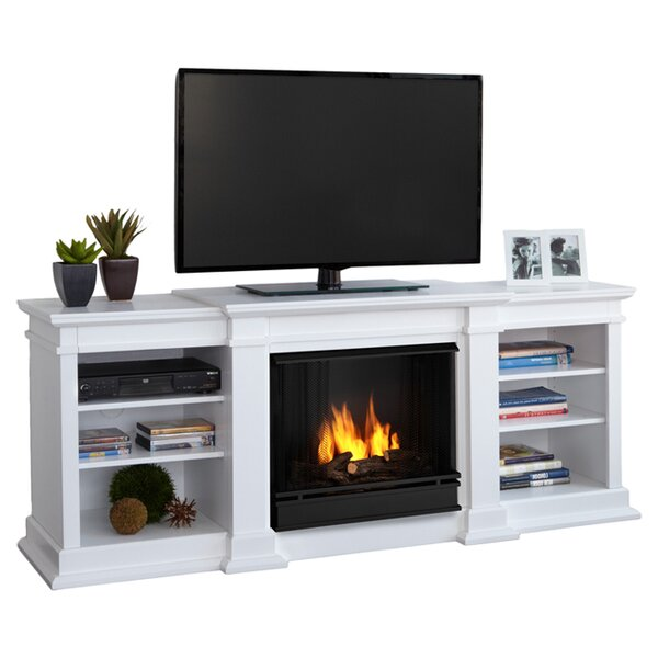 Fresno Tv Stand With Gel Fuel Fireplace Reviews Joss Main