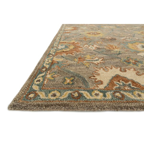 Taupe Foyer Rug : Lena taupe blue area rug reviews joss main