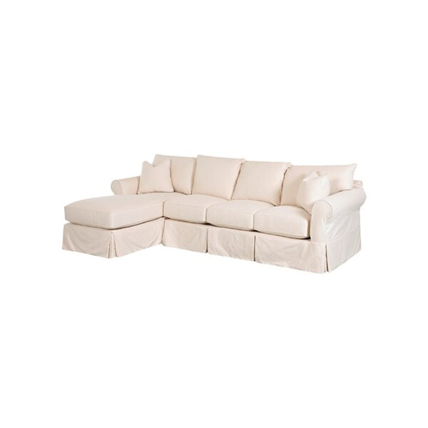 Quincy 112quot sectional sofa joss main for Quincy sectional sofa
