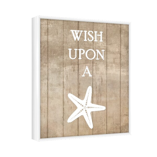 wish upon a star framed giclee print reviews joss main With kitchen cabinets lowes with when you wish upon a star wall art