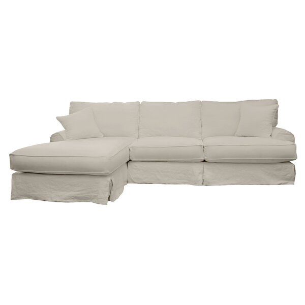 Olivia 120quot sectional sofa reviews joss main for Sectional sofa 120