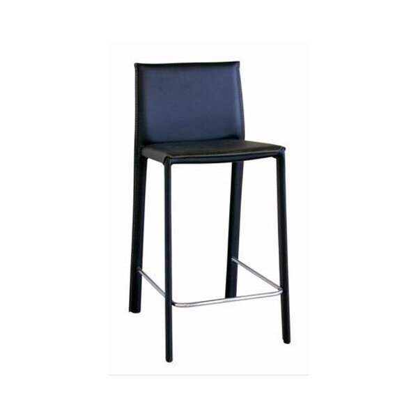Franz Leather Barstool Amp Reviews Joss Amp Main