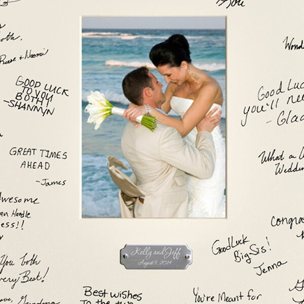 Unique Wedding Presents Sydney : Sydney Personalized Wedding Wishes Picture Frame & Reviews Joss ...