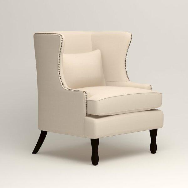 Birch Lane Solomon Wingback Chair Amp Reviews Birch Lane