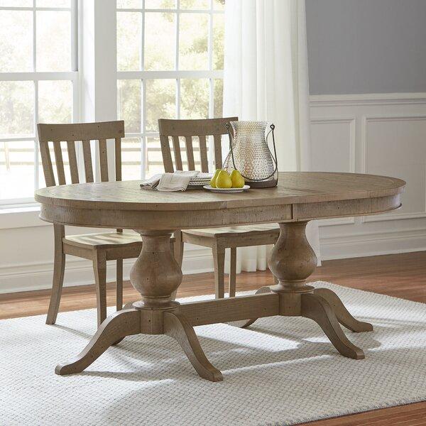 Birch Lane Rollins Extending Dining Table: Birch Lane Seneca Extending Oval Dining Table & Reviews