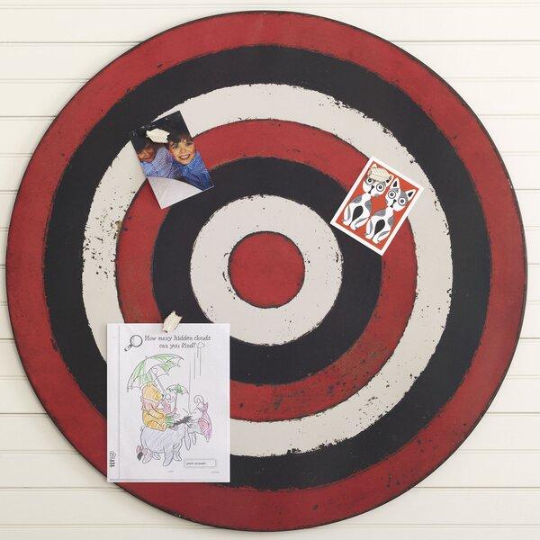 bullseye magnetic memo board kids joss main. Black Bedroom Furniture Sets. Home Design Ideas