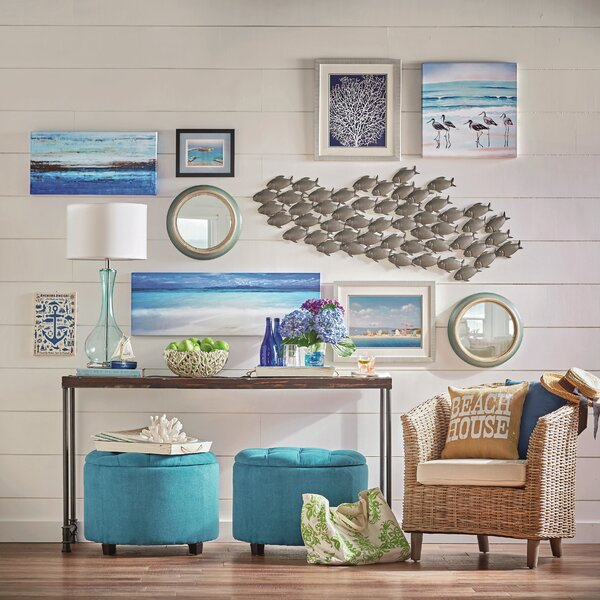 School of fish wall decor reviews joss main for School of fish wall art