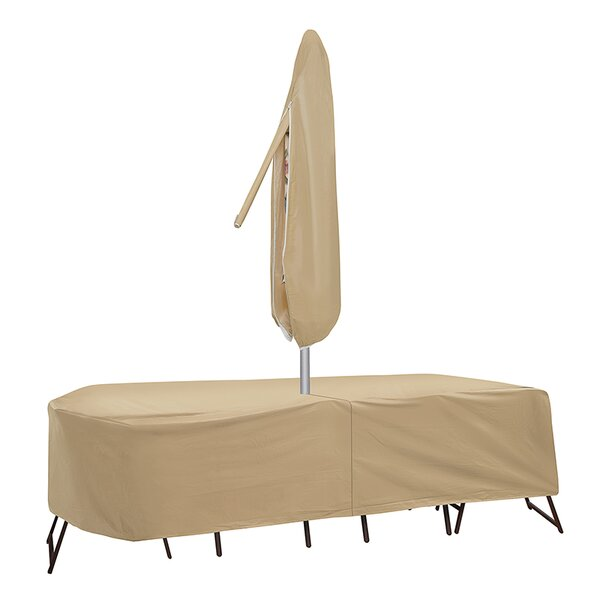 Patio Table & Chair Cover with Umbrella Hole & Reviews