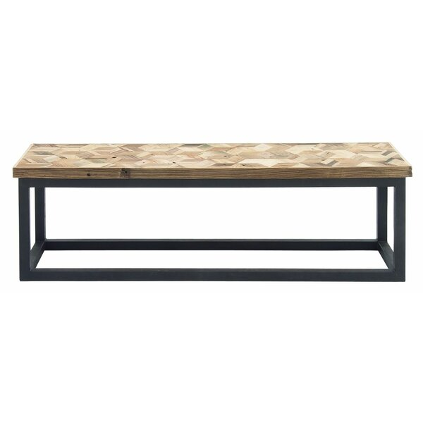 Metal Foyer Bench : Wood and metal entryway bench joss main