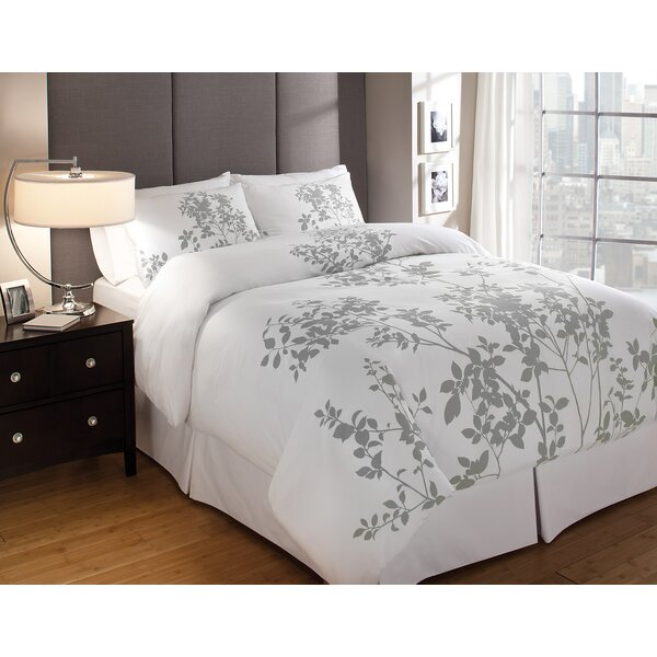 3 piece morrison cotton duvet cover set reviews joss. Black Bedroom Furniture Sets. Home Design Ideas