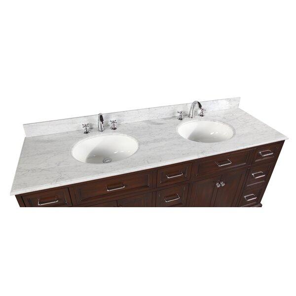 shayla 72 quot double bathroom vanity by kitchen bath