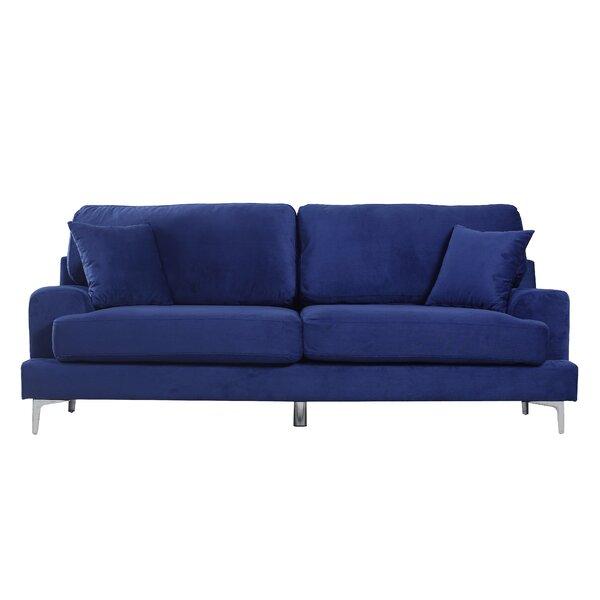 Ultra Modern Plush Velvet Living Room Sofa Joss Amp Main