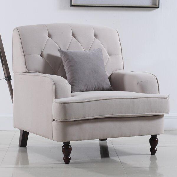 Modern Tufted Fabric Living Room Arm Chair Joss Main