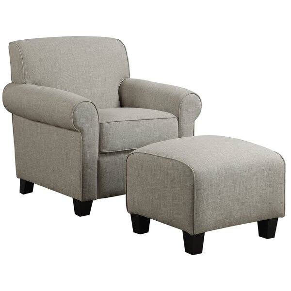 2-Piece Winnetka Arm Chair & Ottoman Set & Reviews | Joss ...