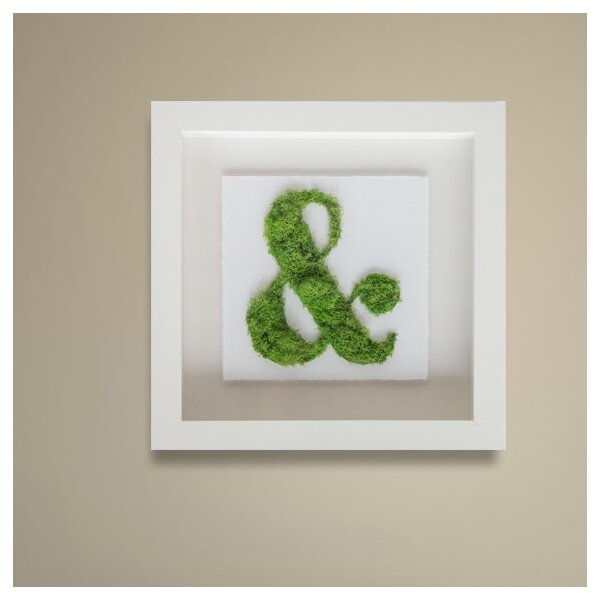 Moss ampersand wall decor oliver gal joss main for Ampersand decor