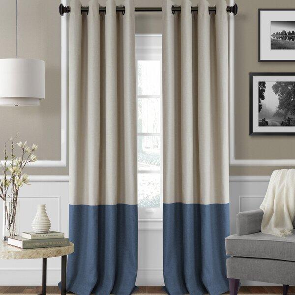 Tiffany Blackout Grommet Single Curtain Panel Amp Reviews