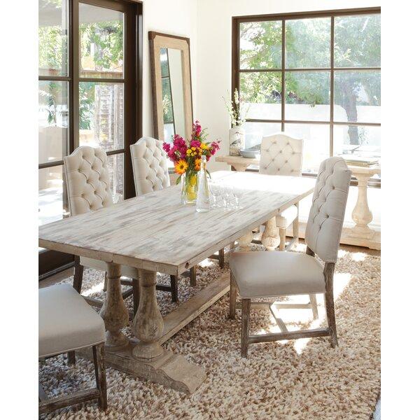 elodie reclaimed wood dining table reviews joss main