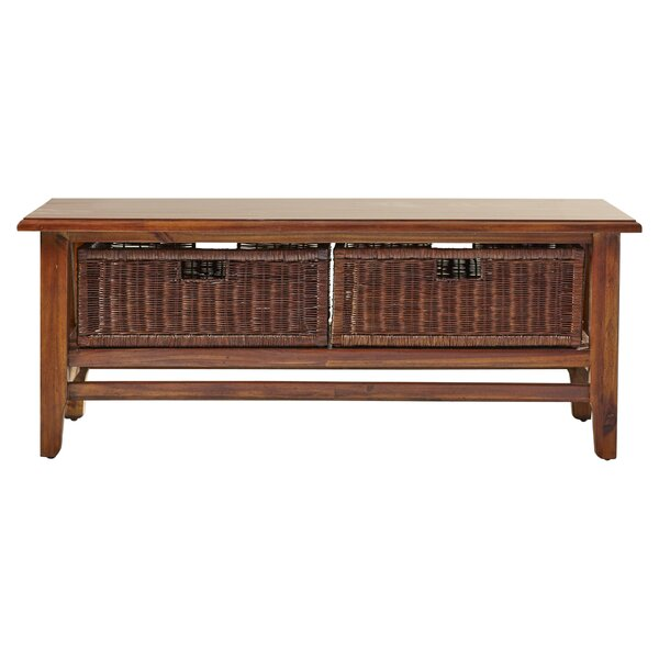 Carter Acacia Coffee Table Reviews Joss Main