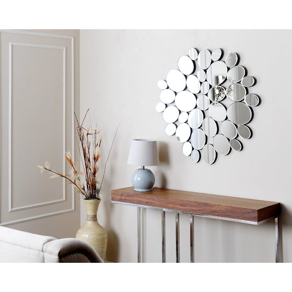 Glass Star Wall Decor : Elliot mirrored wall decor reviews joss main