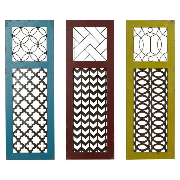 3 piece odessa wall decor set reviews joss main. Black Bedroom Furniture Sets. Home Design Ideas