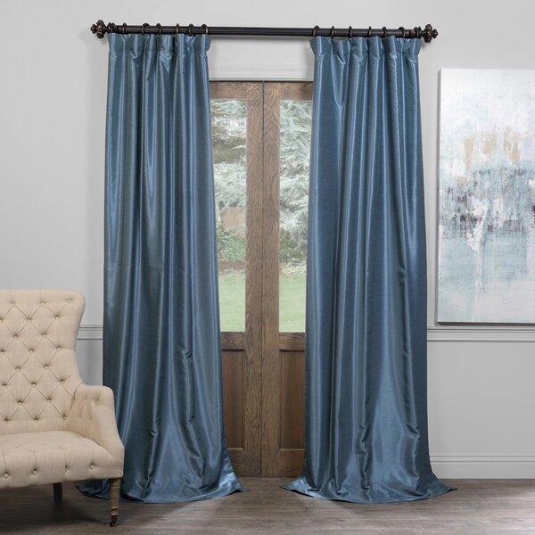 Libby Blackout Pinch Pleat Single Curtain Panel Reviews Joss Main