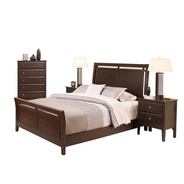 4 piece filmore sleigh bedroom set joss main for Main bedroom furniture