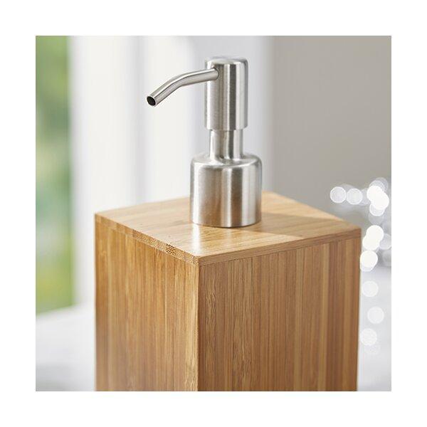 5 piece hartford bamboo bath vanity set reviews joss for Bathroom 5 piece set