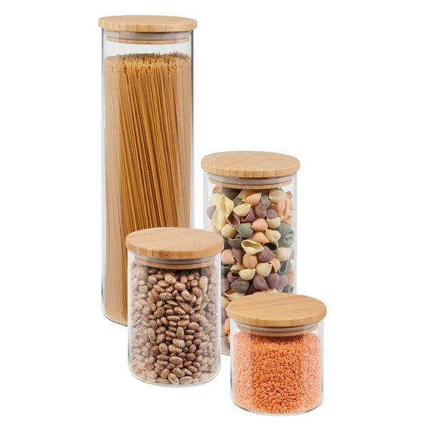 4 piece storage canister set joss main