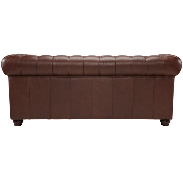 Decoro Barrister Stationary Leather Sofa Reviews Joss