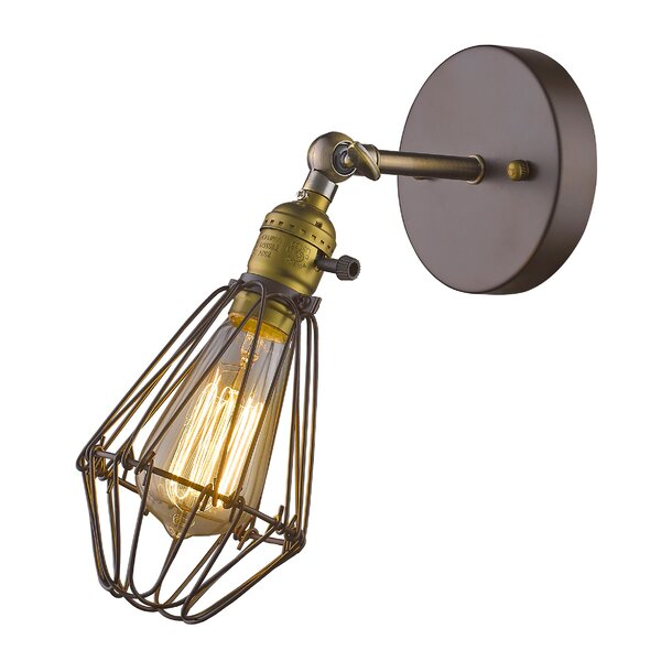 Wall Sconce With Magnifying Glass : Jenson Wall Sconce & Reviews Joss & Main