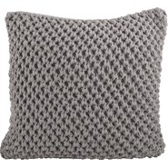 Sheridan Knitted Cotton Throw Pillow