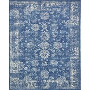 Fiesta Dark Blue Area Rug